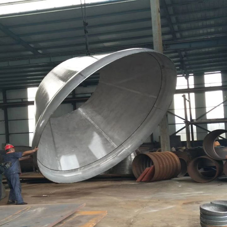 Hot Forging Pressure Vessel Boiler Part Conical Head Stainless Steel Tank Head Conical Dish Head
